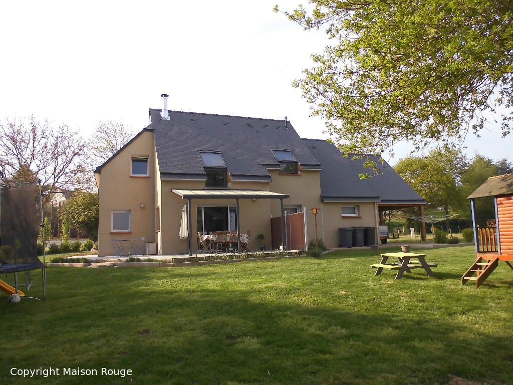 A vendre maison lanvallay 130 m 214 840 agence for A la maison rouge