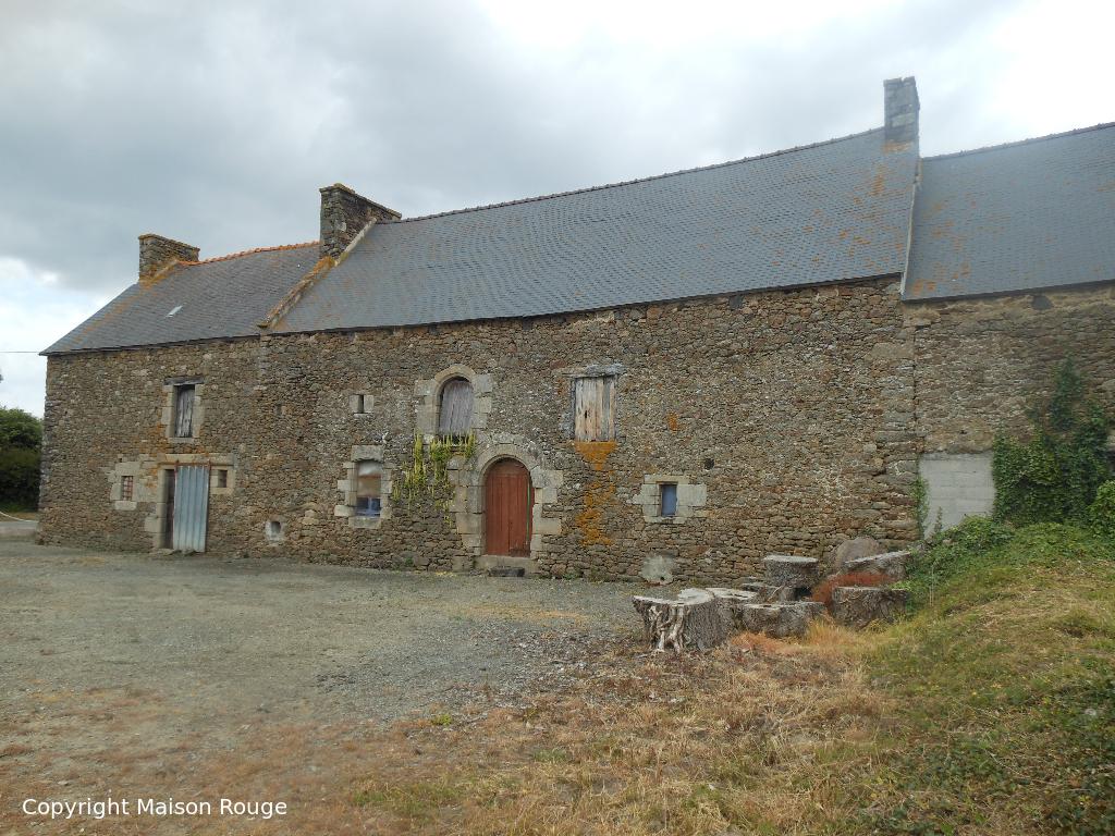 Immobilier plancoet maison rouge for Achat maison belgique frais