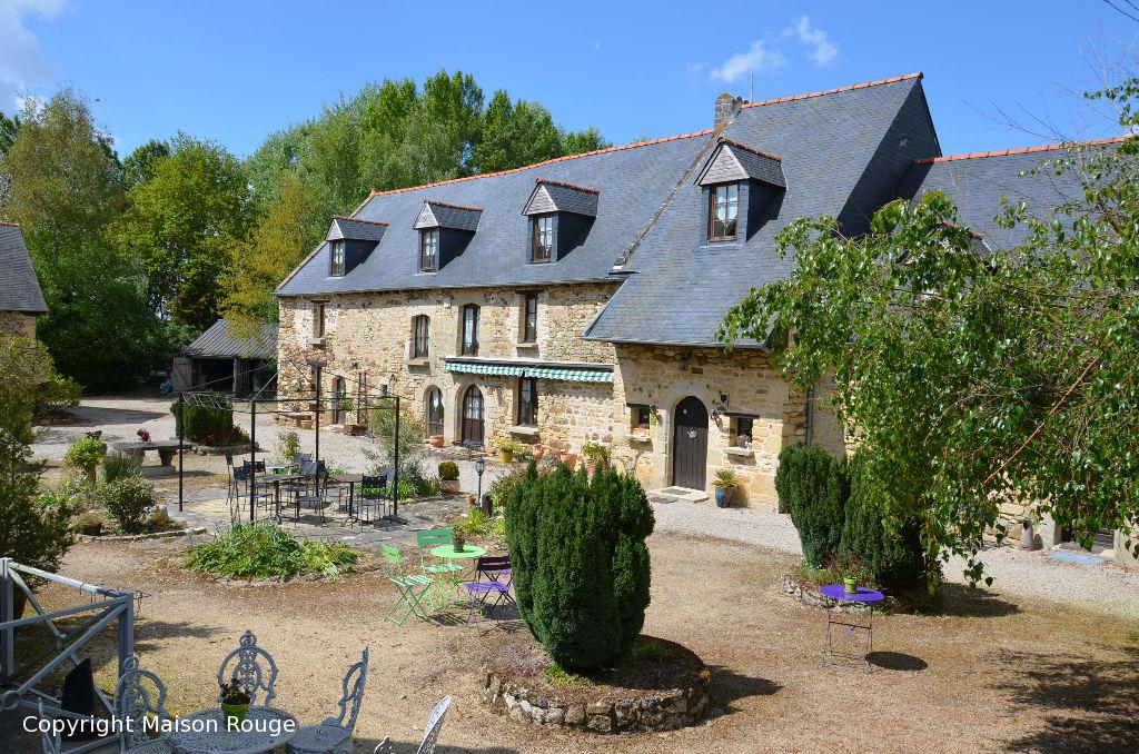 Immobilier dinan maison rouge for Acheter maison de luxe