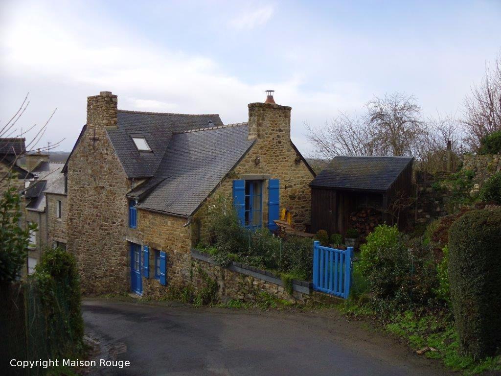 Immobilier dol de bretagne maison rouge for Immobilier maison atypique