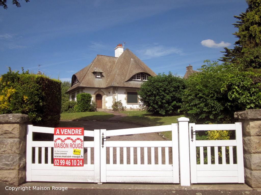 Immobilier dinard maison rouge for Achat maison dinard