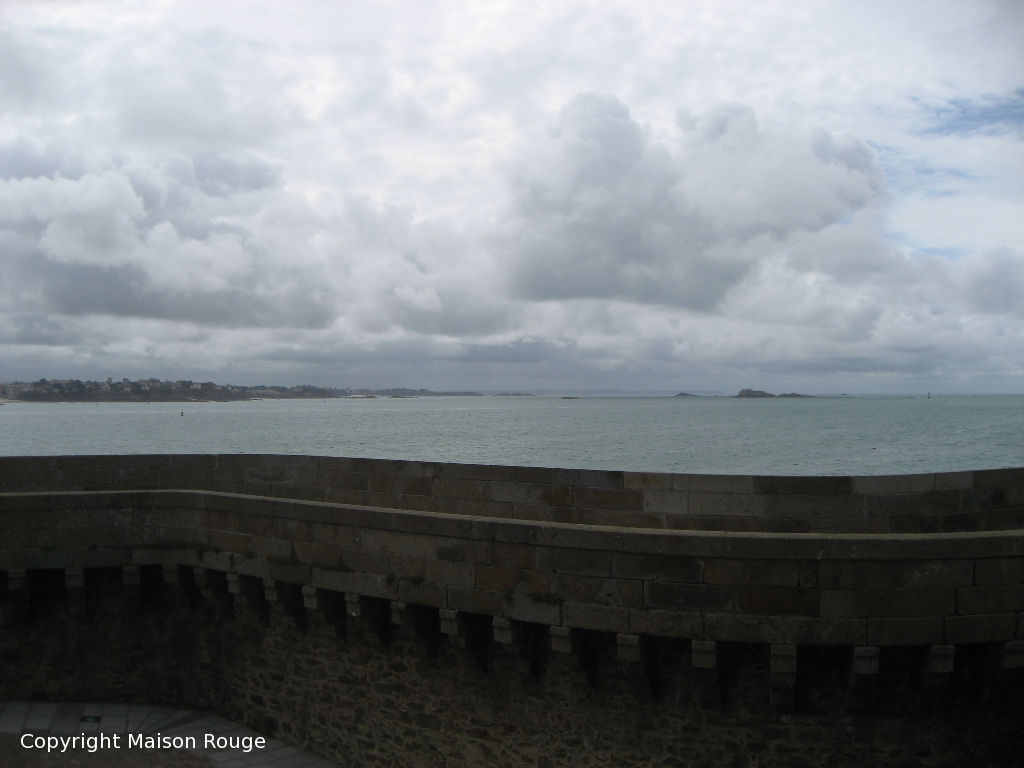 Saint-Malo Intra-Muros : Appartement Vue de Mer