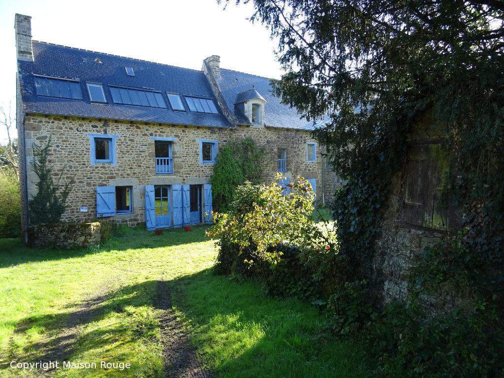 A vendre maison dinan 255 m 272 480 agence de la for Agrandissement longere